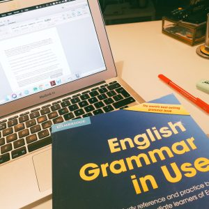 Studying English grammar