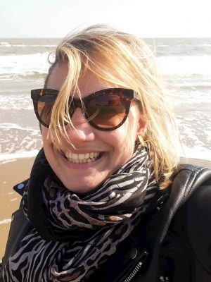 Esther Baardemans at sea