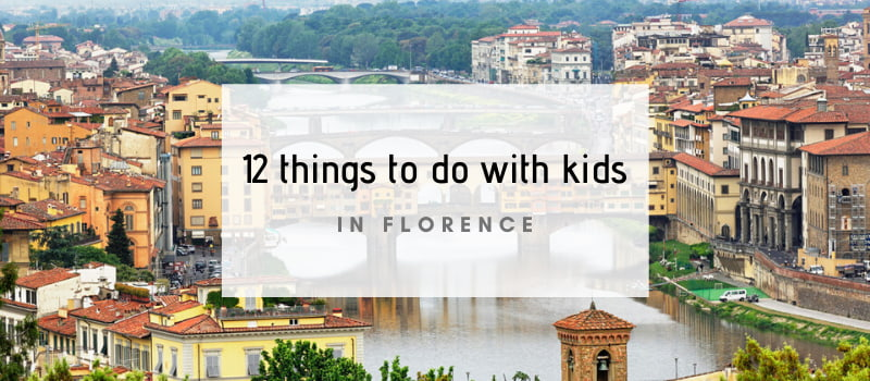 12 things to do in florence with children